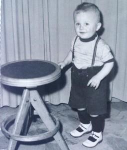 Aldo Dalla Vecchia bambino